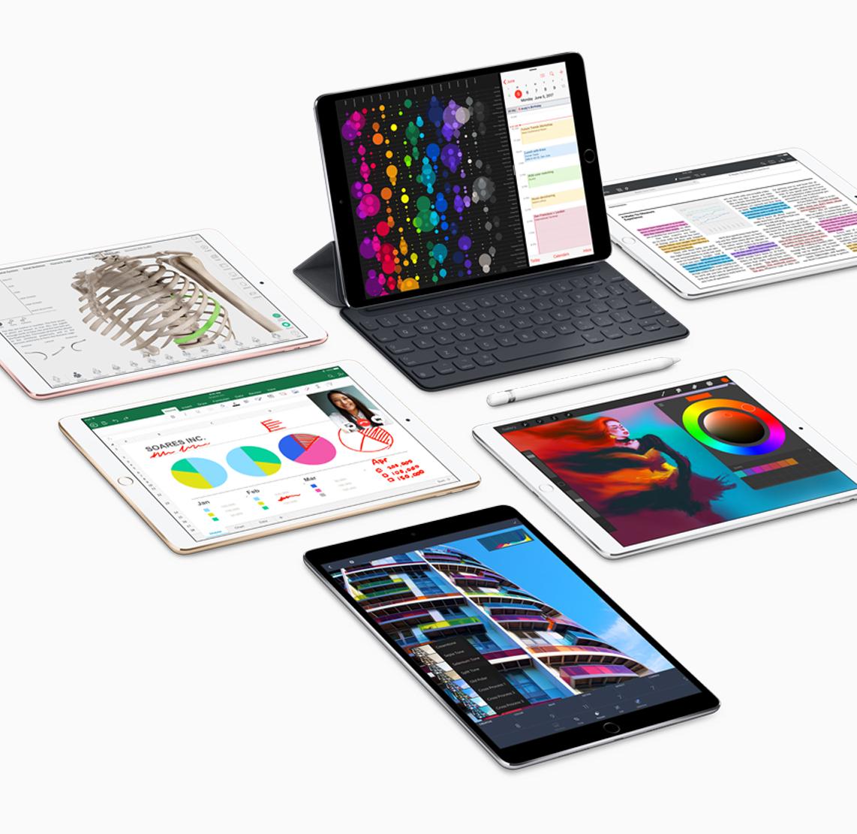 """Das neue iPad Pro im 10,5""""-Format erlaubt endlich eine normalgroße Tastatur."""