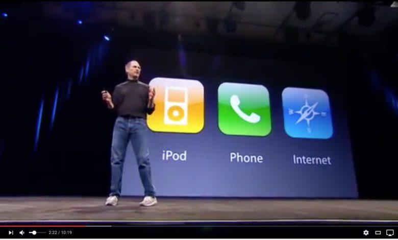 Alles in einem: Steve Jobs machte es spannend.
