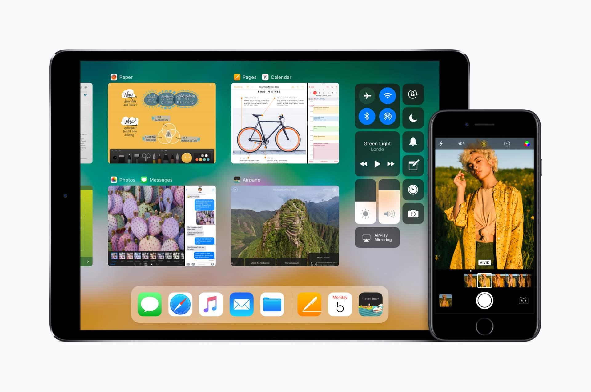 iOS 11 ist näher an MacOS als je zuvor.
