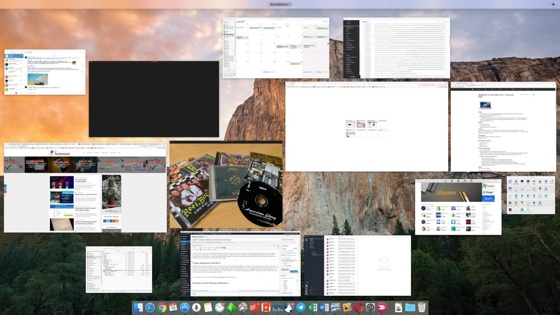 macOS Mission Control