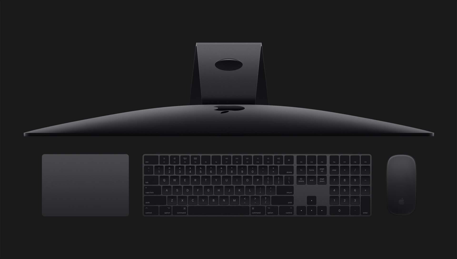 Tastatur und Maus in Space Grey – unfassbar sexy!