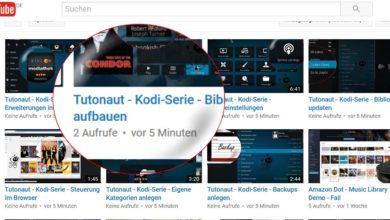 Bild von Kodi-Serie – Liste aller Clips bei YouTube