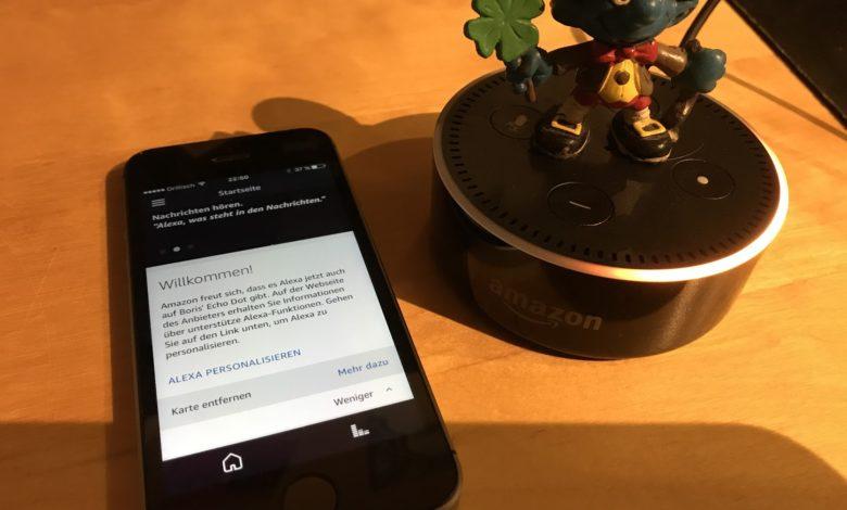 Amazon Echo iPhone