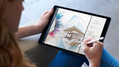 Zeichnen mit dem Apple Pencil geht jetzt besser.