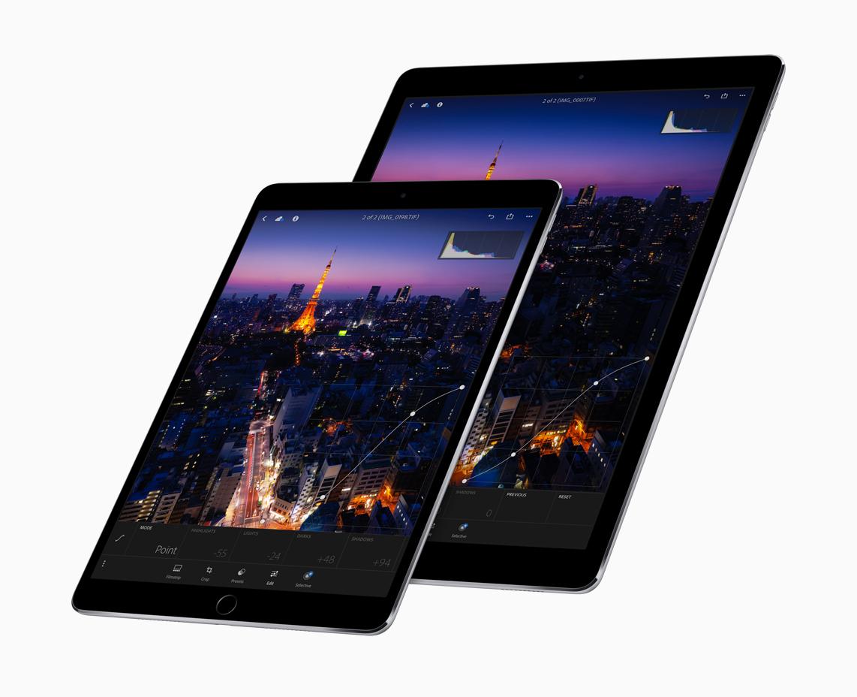 Die neuen iPads 2017.