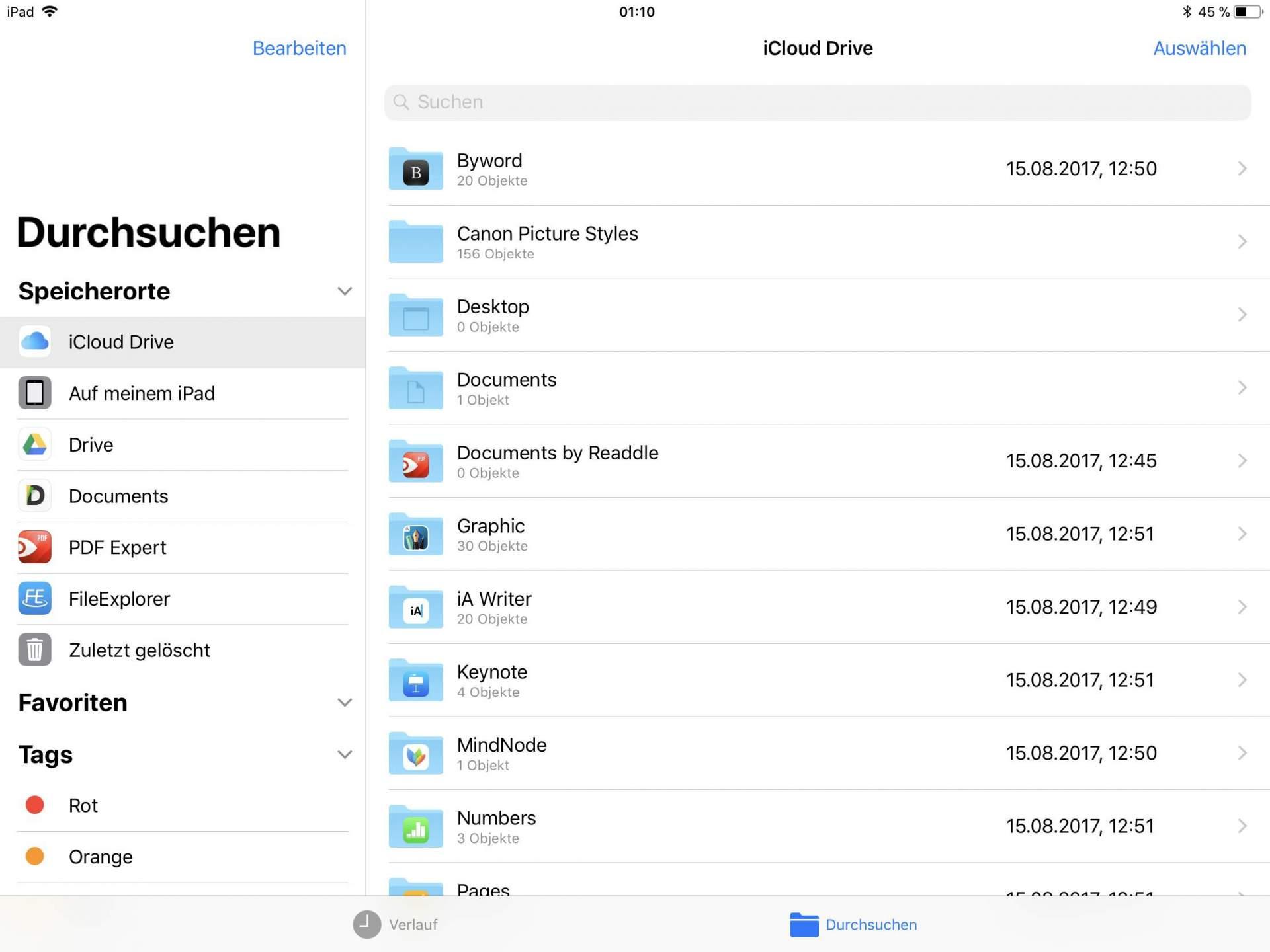 Die Files-App verspricht viel, kann aber wenig.