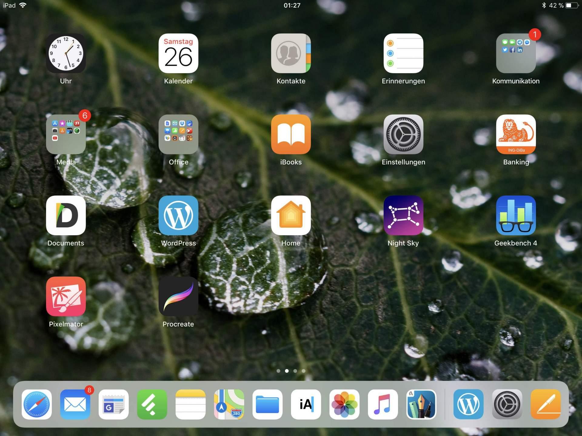Der iOS-11-Homescreen – das nützlichste iOS aller Zeiten, aber eben immer noch ein iOS.