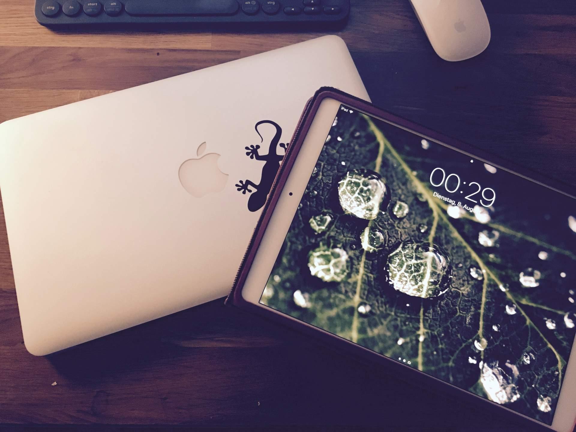 Macbook oder iPad Pro? Keine Frage: Beides!