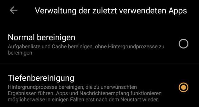 Android Apps schließen