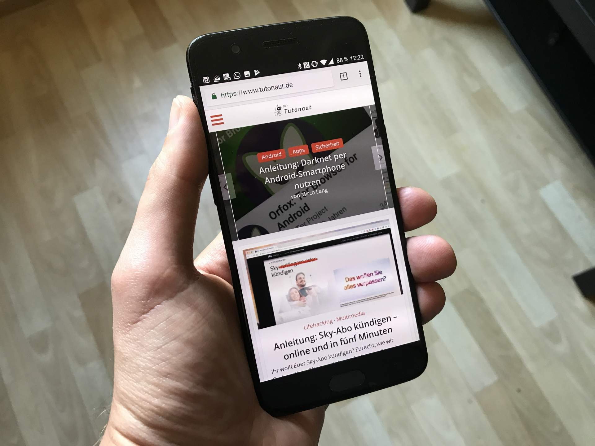 OnePlus 5 im Test