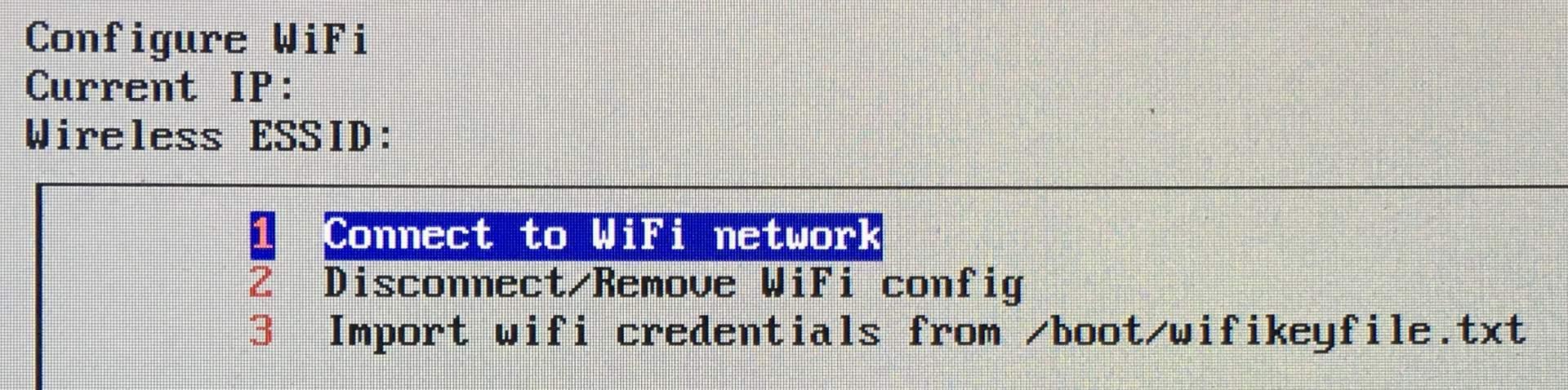 Wählt das WiFi-Netzwerk aus und gebt das Passwort ein.