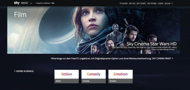 Sky Programm