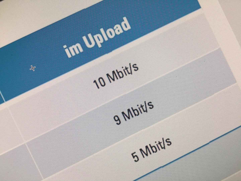 Wichtig ist, dass Eure Upload-Rate zuhause ausreicht.