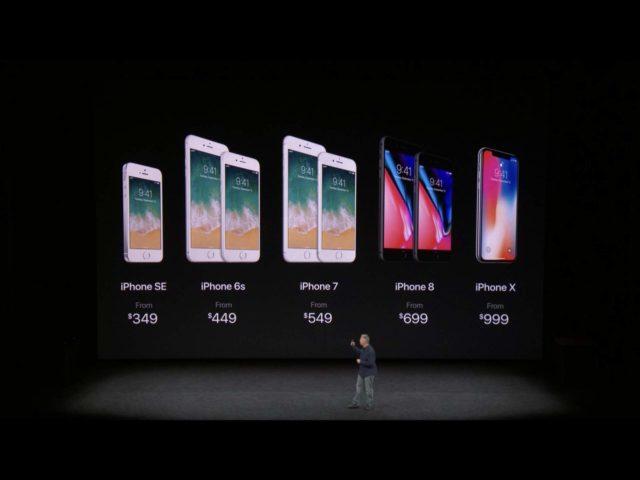 iPhone Modelle 2017