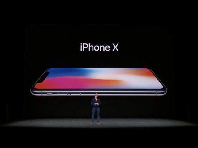 iPhone X TIm Cook