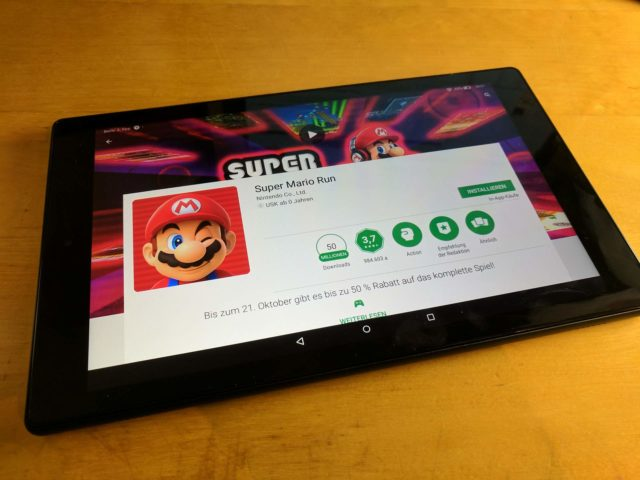 Amazon Fire HD 10 Play Store