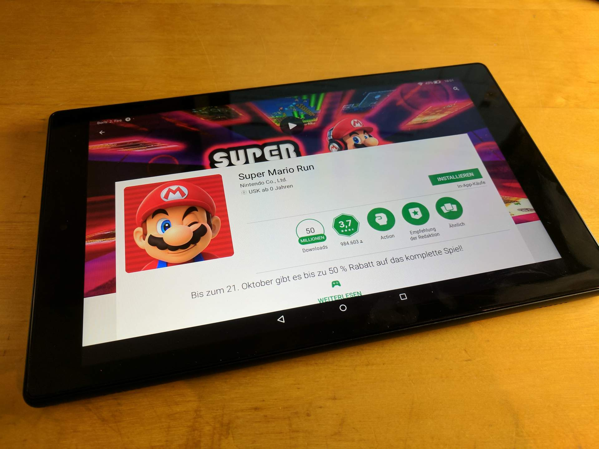 Amazon Fire Play Store Installieren