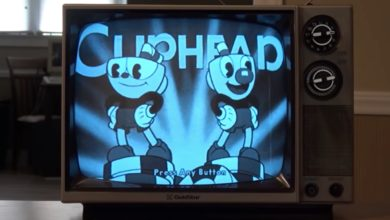 Bild von Cuphead auf Schwarz-Weiß-TV: Wie eine alternative Gaming-Zeitachse