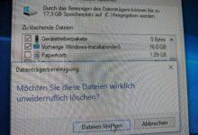 Bild von Anleitung: Nach Windows-10-Update viel Speicher freigeben
