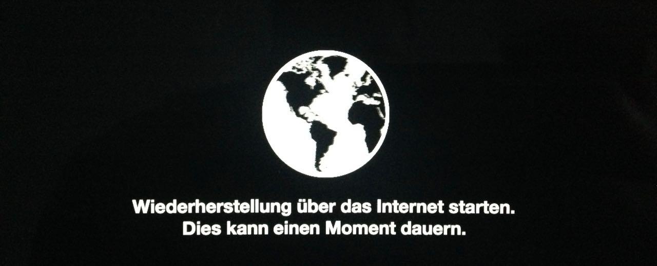 Die Internet-Recovery wurde bei vielen Macs nachgerüstet.