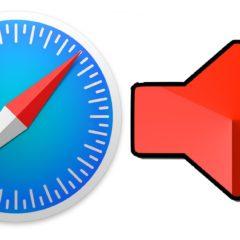 Safari lässt sich leicht stumm schalten.