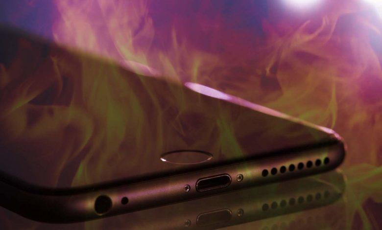 Das iPhone muss nicht gerade in Flammen aufgehen – Permanente Hitze ist aber trotzdem nicht gut.