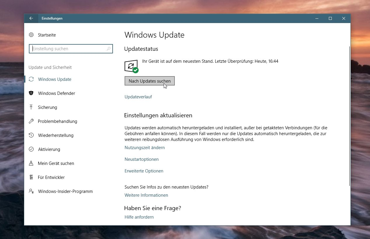 Anleitung windows 10 fall creators update manuell for Windows 10 update