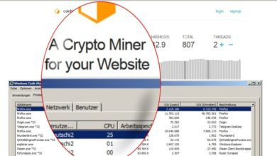Bild von Coinhive & Co. mit Windows-Mitteln blocken