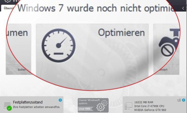 windows schneller machen