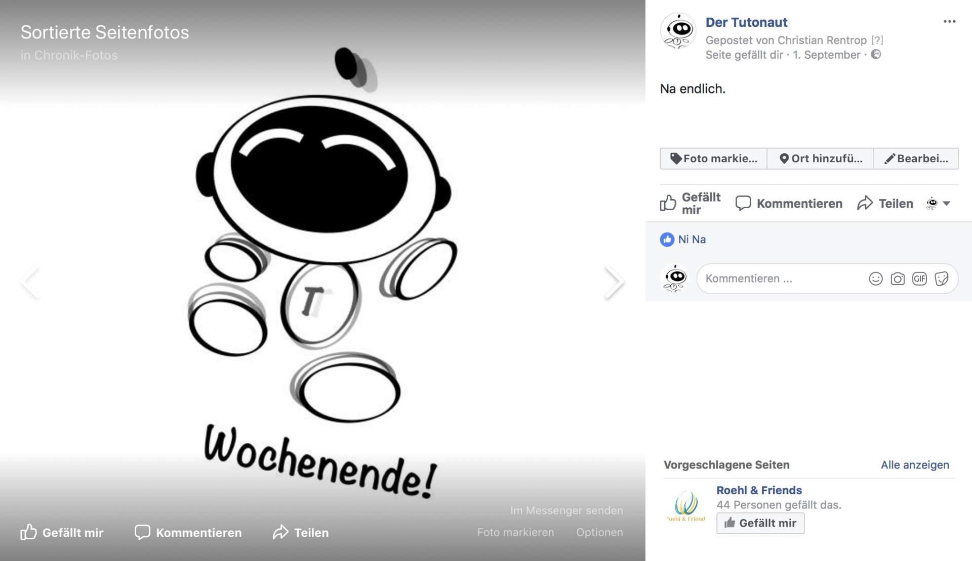 Facebook-Bilder herunterladen ist denkbar einfach.