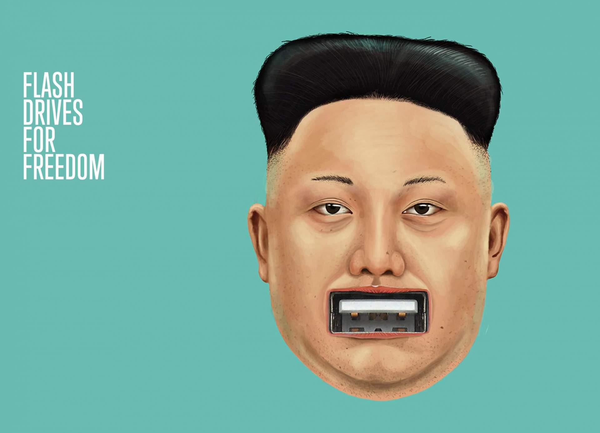 Eure USB-Sticks können helfen, Nordkorea zu befreien.