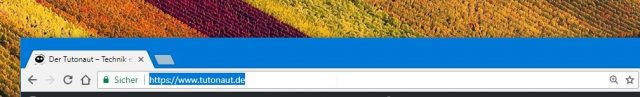 Google Chrome URL Bar