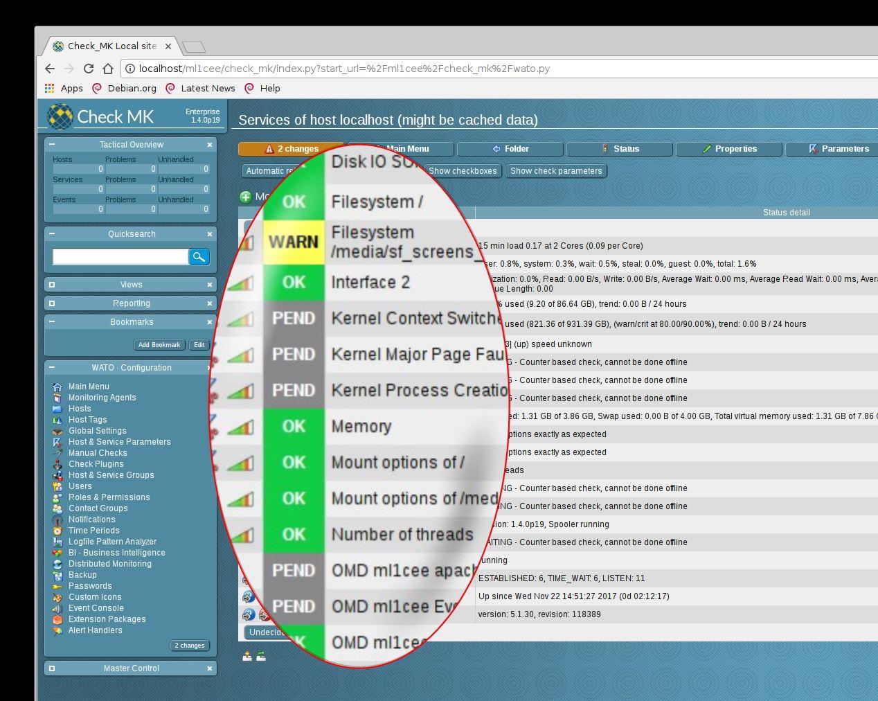 Check_MK-Serie: Installieren und Hosts überwachen - Der Tutonaut
