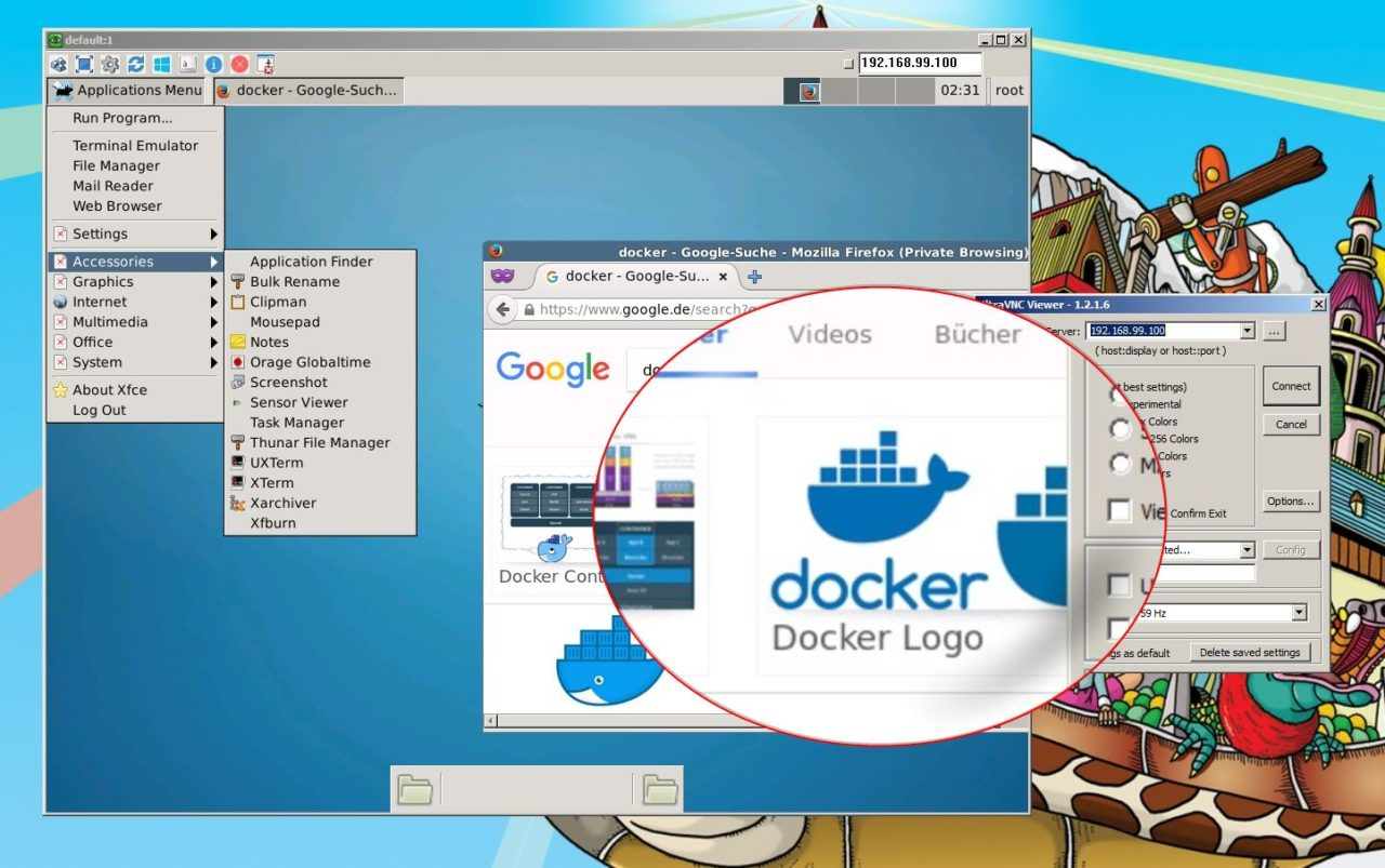 How to start docker container at raspberry pi startup