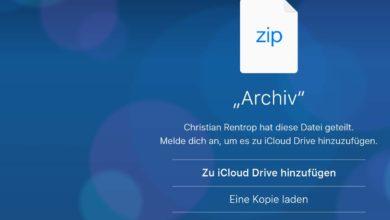 Bild von Anleitung: iCloud Drive wie Dropbox nutzen