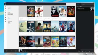 Bild von Kodis Web-Oberfläche als Windows-App nutzen