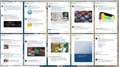 Bild von Mehrere Websites als Desktop-App – Beispiel: Twitter-Dashboard
