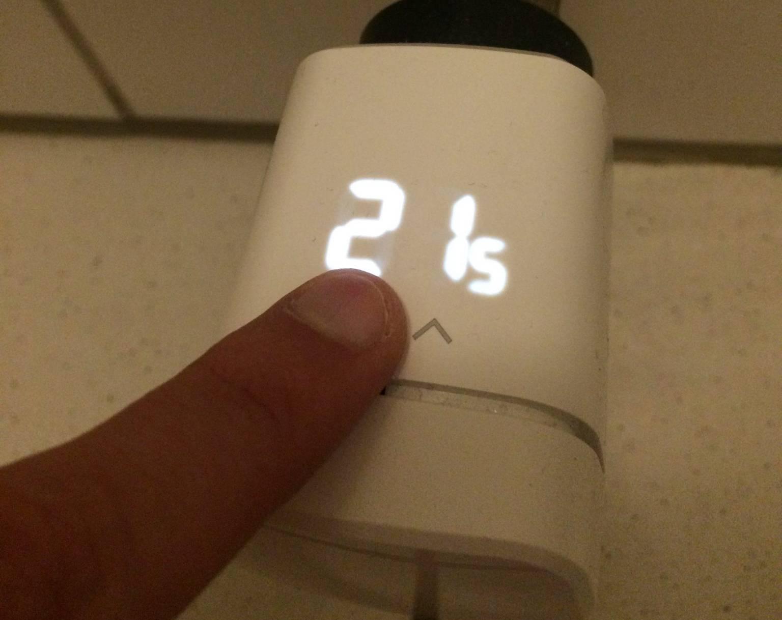 Die Eve Thermo ist ein smarter Thermostat.