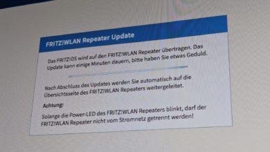 Bild von Anleitung: Fritz-Repeater auf neueste Software aktualisieren