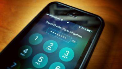 Bild von iPhone und iPad mit längerem Code oder Passwort entsperren