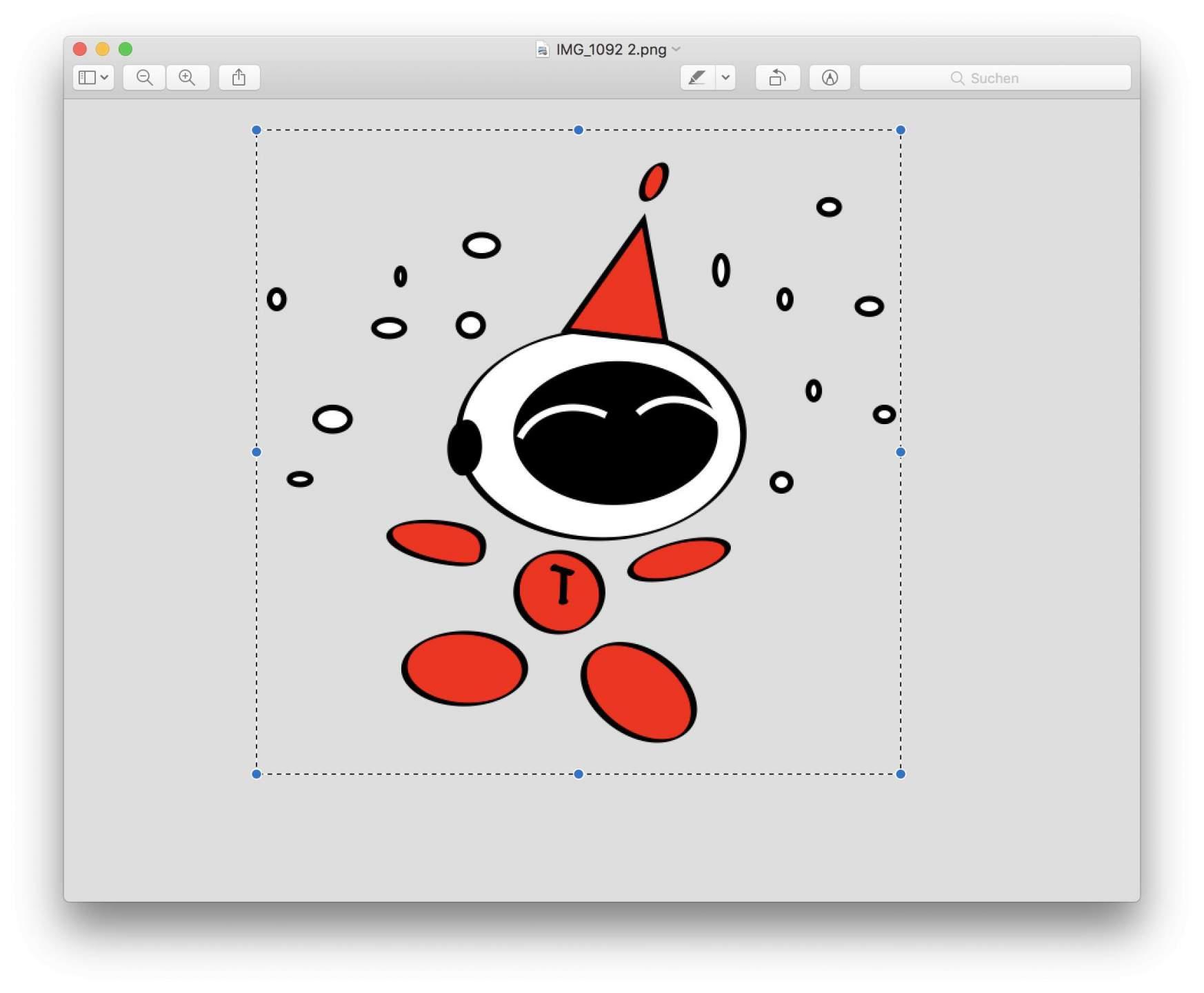 Was viele nicht wissen: Mit gedrückter Shift-Taste könnt Ihr quadratische Ausschnitte in Vorschau erstellen.