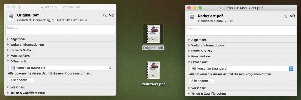 Anleitung: Am Mac Gratis PDF-Dateien Verkleinern