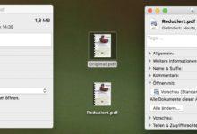 Bild von Anleitung: Am Mac gratis PDF-Dateien verkleinern