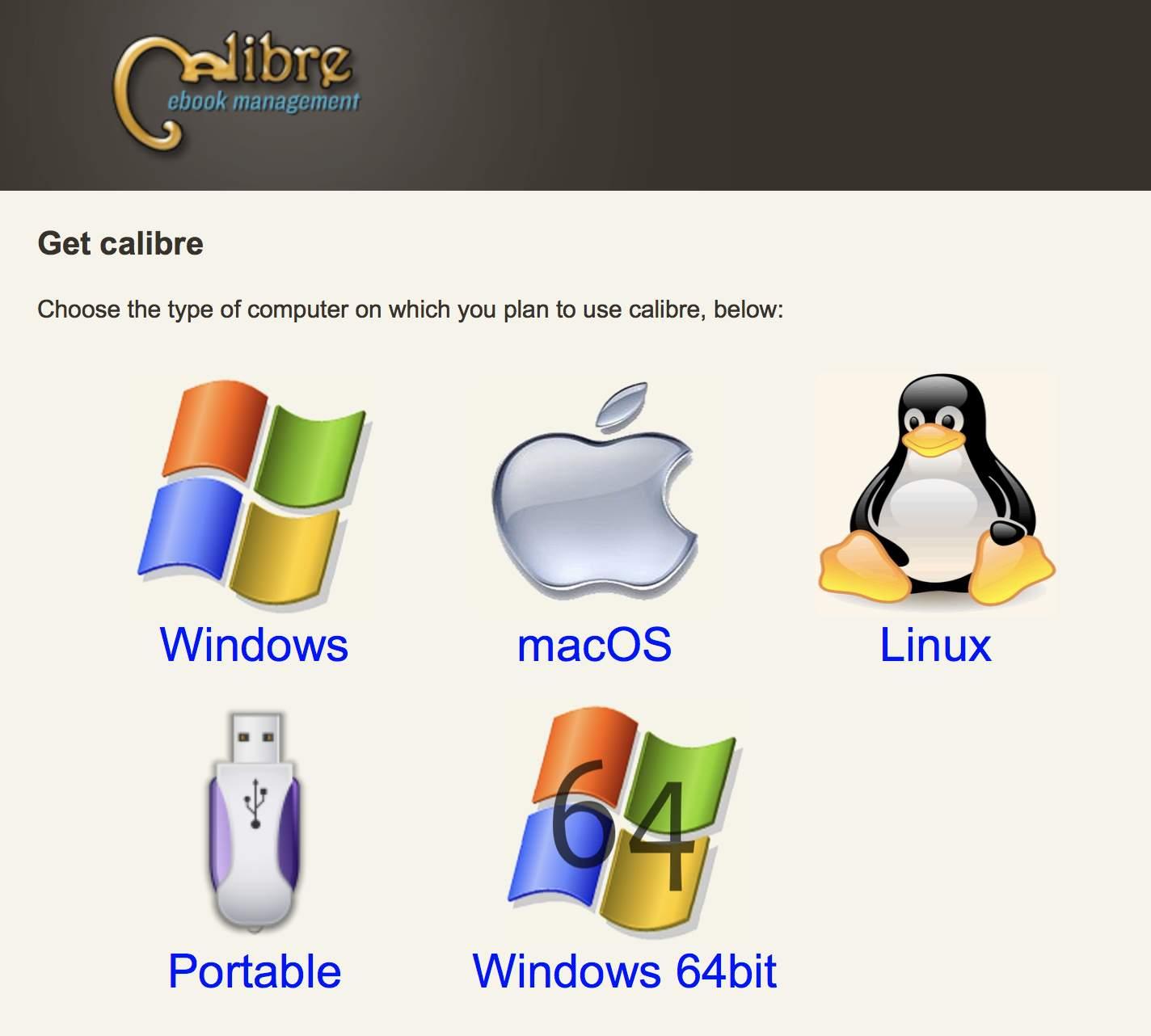 Calibre ist kostenlos erhältlich.