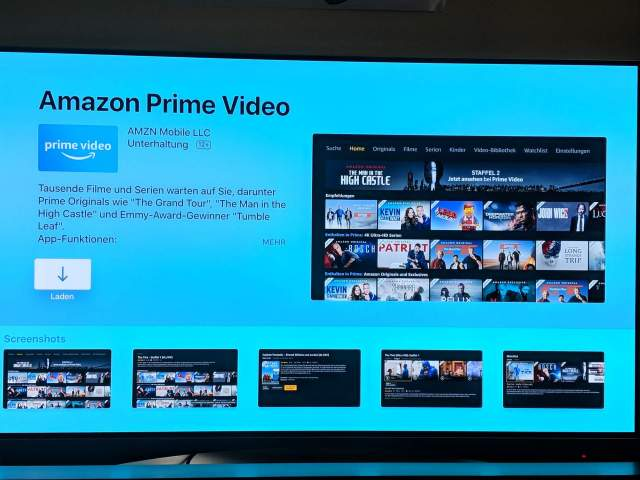 Apple TV 4 Prime Video App
