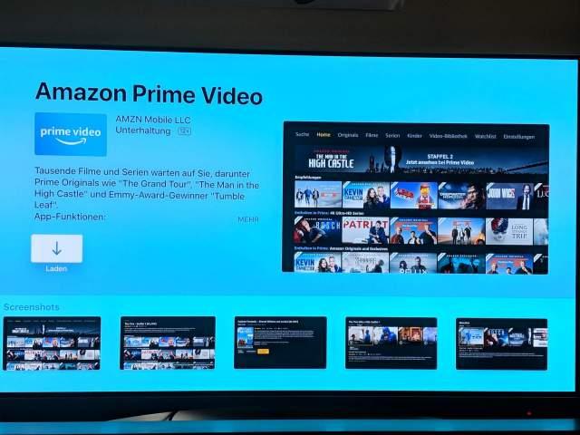 Apple TV 4 Prime Video App