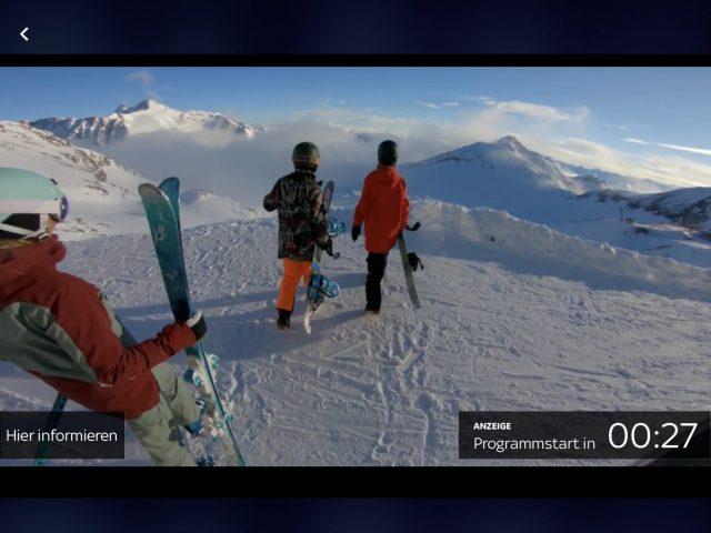 Sky Go Werbung überspringen