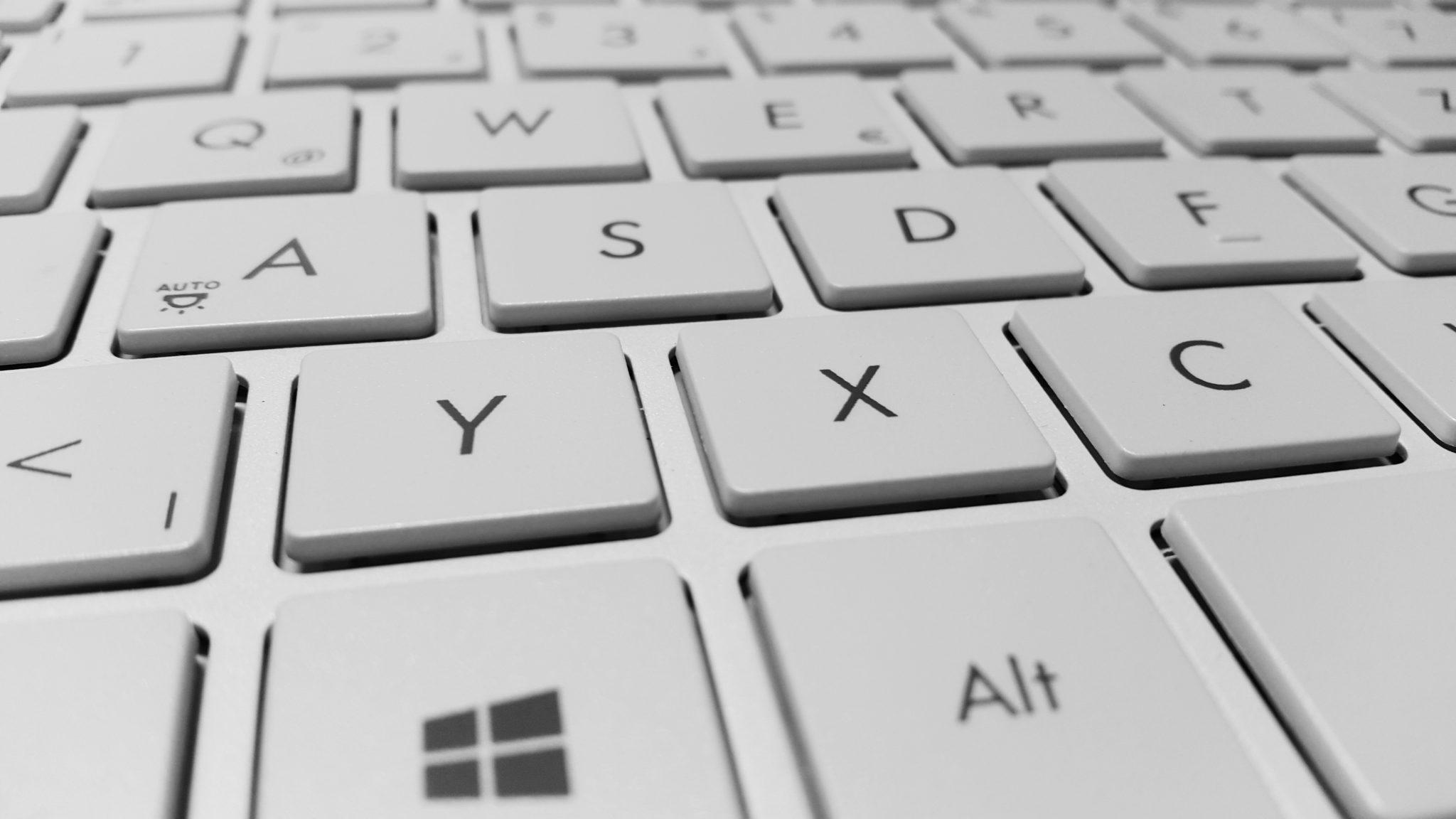 Was viele nicht wissen: Auch ein Windows-Keyboard funktioniert am Mac.