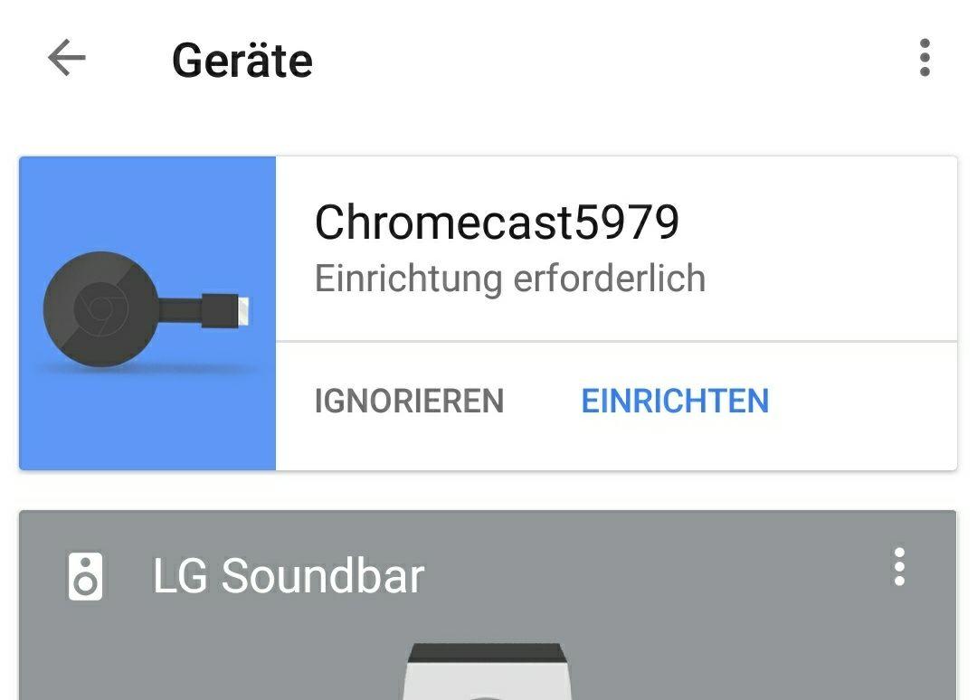 Anleitung: Google Chromecast einrichten und nutzen