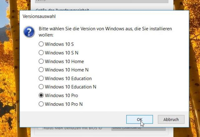Windows 10 Editionen